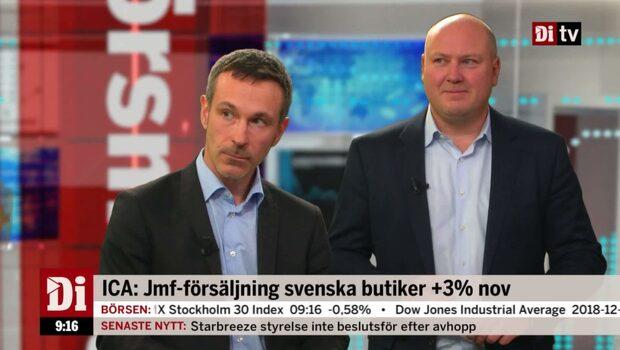 """Oskar Ekman om Ica: """"Alltid oroande med molnfritt"""""""