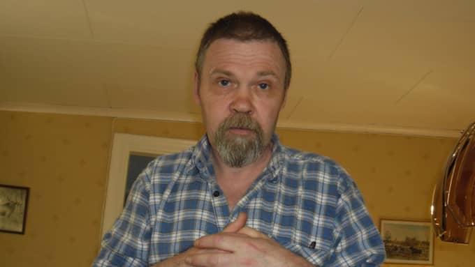 John Melin, 60, från Filipstad mördades utomhus när han var på promenad. Foto: Privat