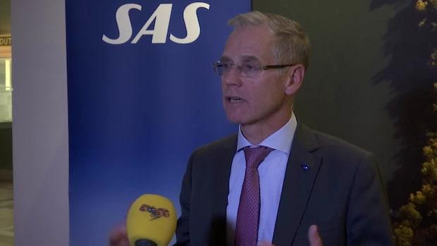 Hör hela intervjun med SAS chef Rickard Gustafson