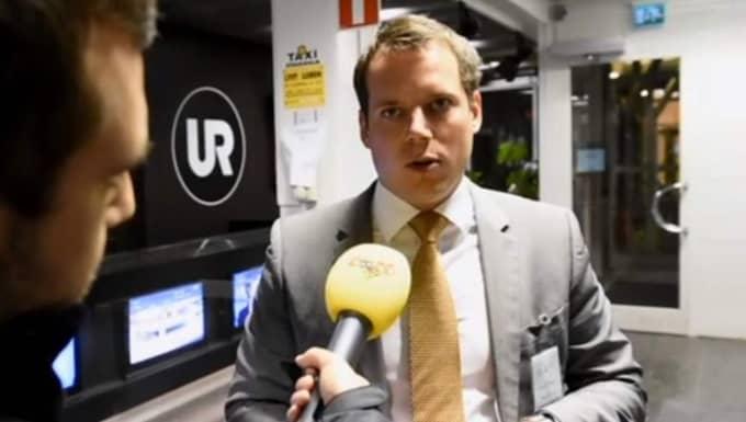 Christoffer Dulny. Foto: Roger Vikström