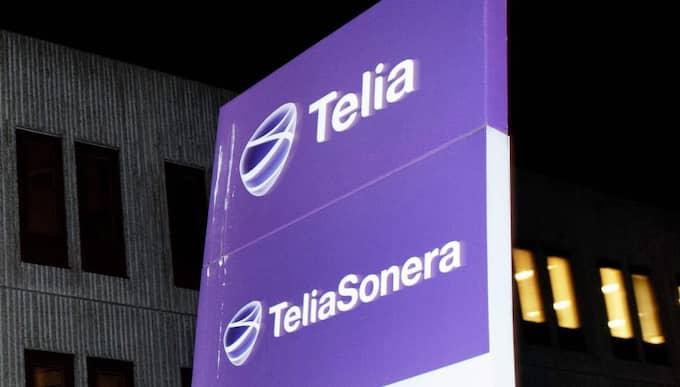 Telia Soneras aktie är strax före lunch ned med drygt 5 procent, till skillnad från Stockholmsbörsens breda index OMXSPI som stiger svagt, plus 0,2 procent. Foto: Izabelle Nordfjell