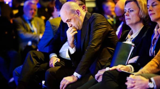 """VALSPURT. LO hårdsatsar inför valet med en film som fått namnet """"Reinfeldts Sverige"""". Foto: JENS L'ESTRADE Foto: Jens L'Estrade"""