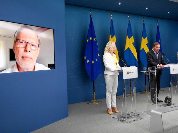 Mats Melin blir ordförande för coronakommissionen