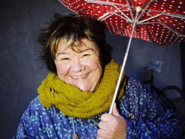 Komikern Ann Westin fick en hjärnblödning på scen