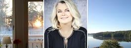"""Carin Hjulström: """"Som författare är det viktigt att bo bra"""""""