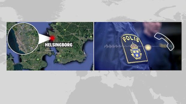 Flera bilar i kollision på E6 vid Helsingborg