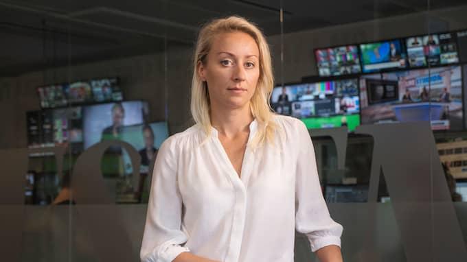 Expressens kriminalkrönikör Catarina Lundbäck. Foto: THOMAS ENGSTRÖM