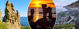 Glöm Gotland – här är okända svenska platserna som har raukar