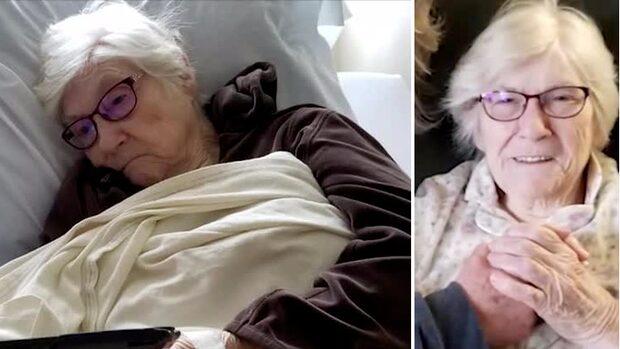 """Geneva, 90, frisk från corona: """"Ta inga chanser"""""""