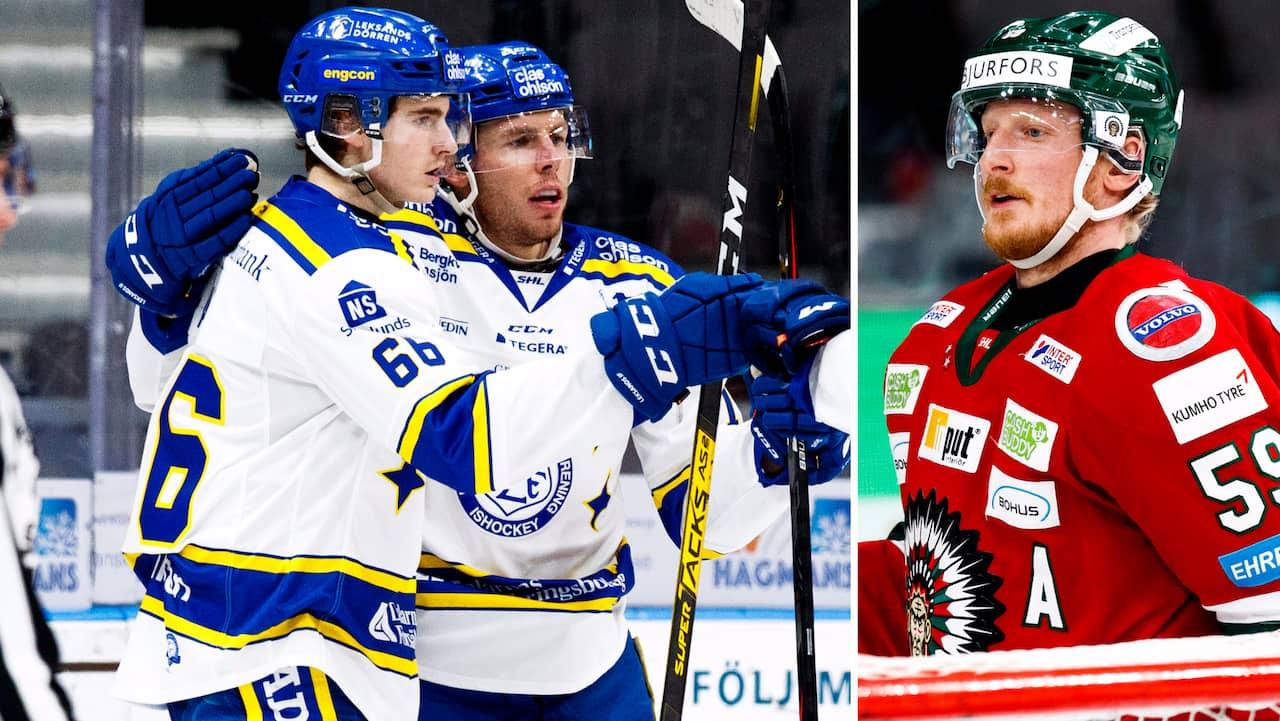 Leksand saknade sju spelare - skrällde mot Frölunda