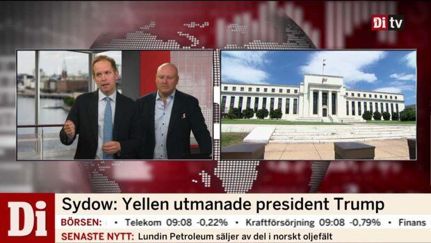 Yellen om finansmarknadens regleringar