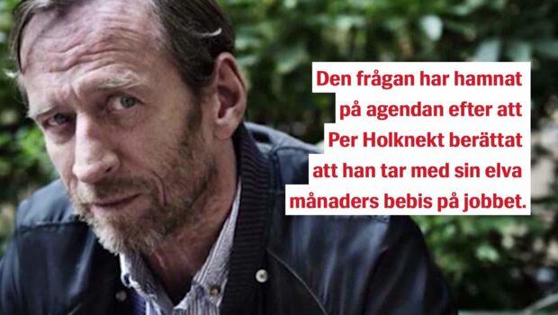 Kritiken mot Per Holknekt – efter oväntade barnbeslutet