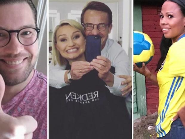 """Henrik Torehammar: """"Ebba Busch Thor är bjussigast på Instagram"""""""