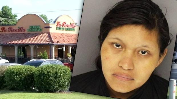 19-åringen födde barn på restaurangtoan