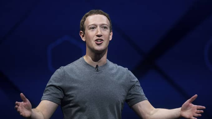 Mark Zuckerberg, chef för Facebook. Foto: NOAH BERGER / AP TT NYHETSBYRÅN
