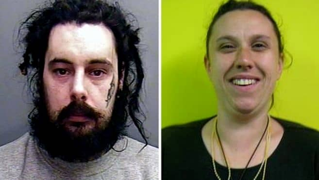 Dean Loewe döms för att brutalt ha styckmördat flickvännen och sedan gjort sig av med kroppsdelarna i toaletten och soporna. Foto: Polisen i Devon och Cornwall