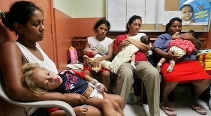 PÅ VÄG HITÅT. När influensan drabbade Nicaragua dödade den minst 70 barn och 10 vuxna. Mer är 12 000 drabbades.
