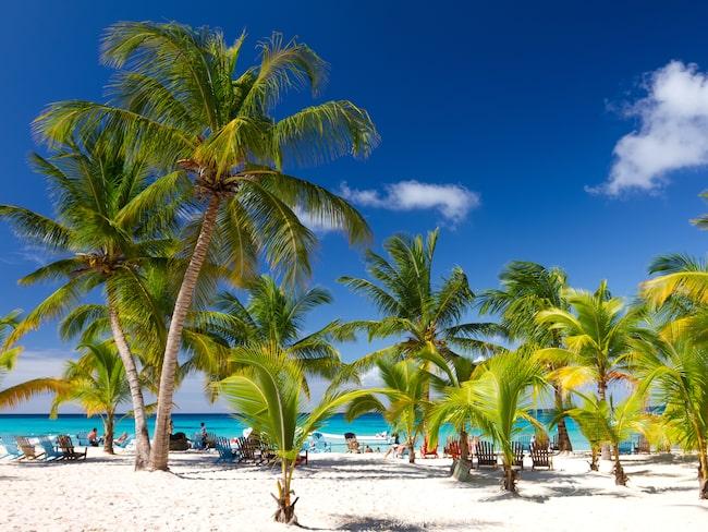 Fina, och populära, Dominikanska Republiken återfinns på sjätte plats.