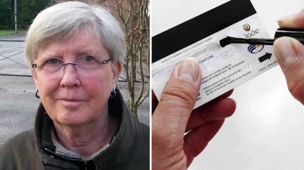 Ulla Gillberg lurades på sitt kontokort