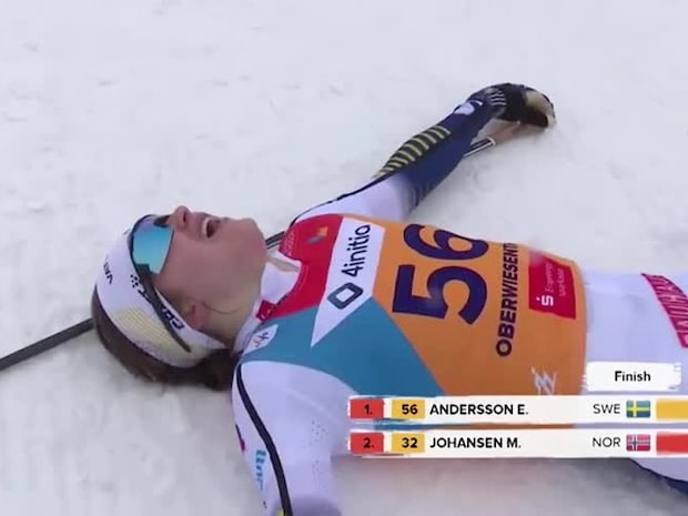 Höjdpunkter: Ebba Andersson tar U23-guld efter svenskduell