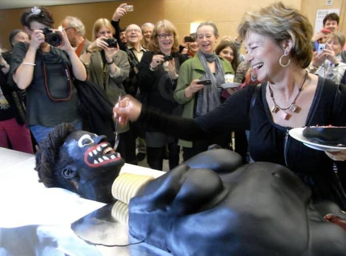Ministern matar. Foto: Marianne Lindberg De Geer
