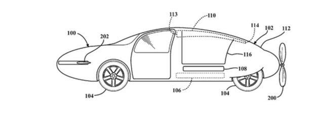 En av bilderna ur Toyotas patentansökan från 2014.