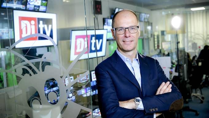 """Jon Åsberg kommer att synas i rutan i höst när Di TV relanseras. Han har tidigare varit chefredaktör för Affärsvärlden och Finanstidningen. """"Ett superspännande projekt"""", säger han. Foto: ALEX LJUNGDAHL"""