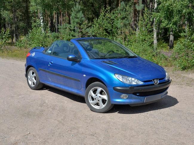 Peugeot 206 cabriolet var den allra hetaste på Blocket under maj månad.