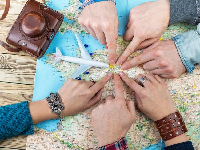 Reseambassadörerna kan välja bland 25 destiantioner i Europa från Göteborg Landvetter eller Malmö Airport.