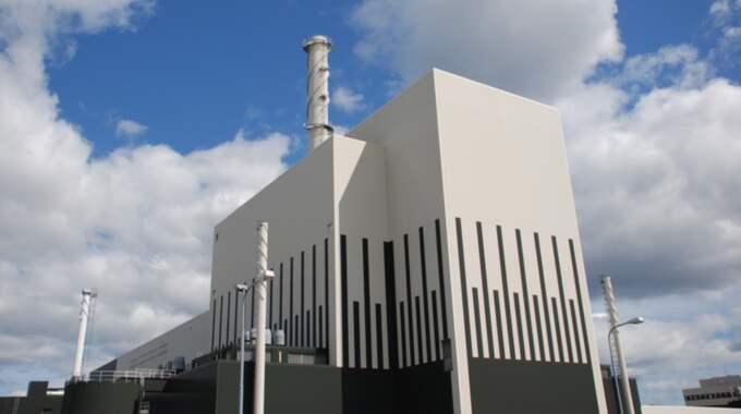 Kärnkraftsverket i Oskarshamn.