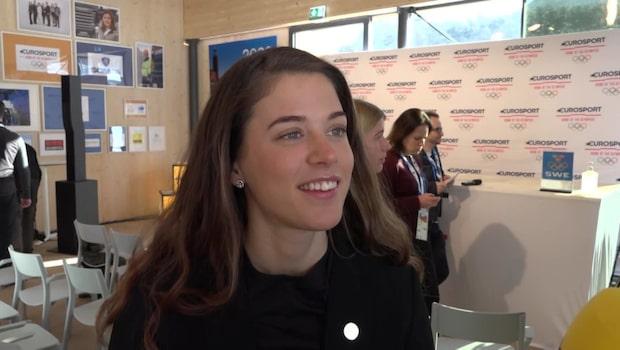 Anna Dyvik om nya speciella OS-banan i sprint