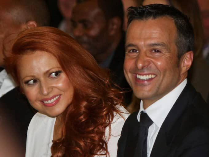 Jorge Mendes och hans fru Sandra Mendes. Foto: All Over Press