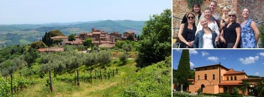 Vingårdar och vyer - Toscana är lika vackert som man tror.