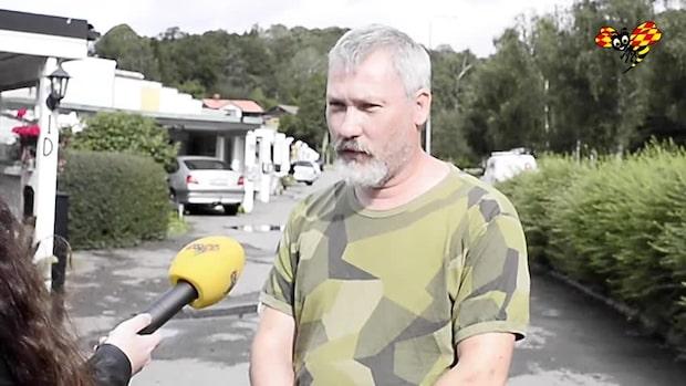 """Översvämningen i Kållered: """"Fick in vatten i källaren"""""""