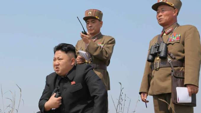 Nordkoreas diktator Kim Jong-Un. Foto: Rodong Sinmun/EPA/TT