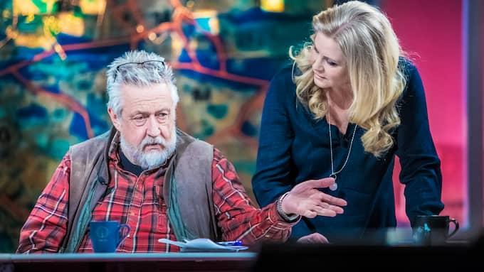 """Leif GW Persson lämnade SVT efter 16 säsonger med """"Veckans brott"""". Foto: MICHAELA HASANOVIC"""