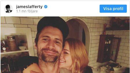 One Tree Hill-stjärnans förlovning – visar på Instagram