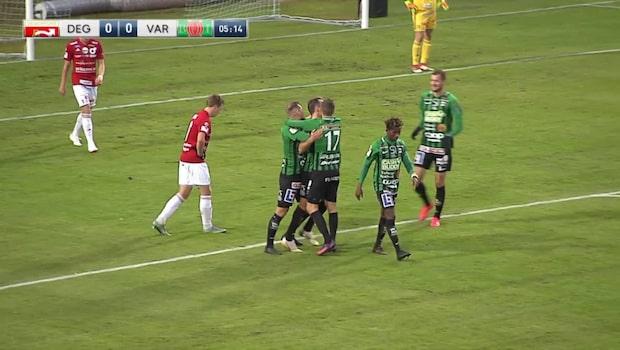 Höjdpunkter: Varberg-Degerfors