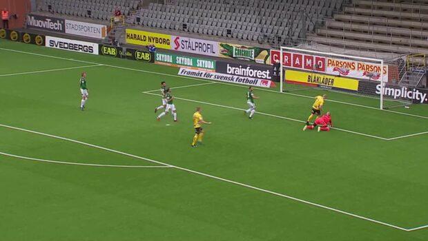 Gustavsson petar in 1-0 för Elfsborg