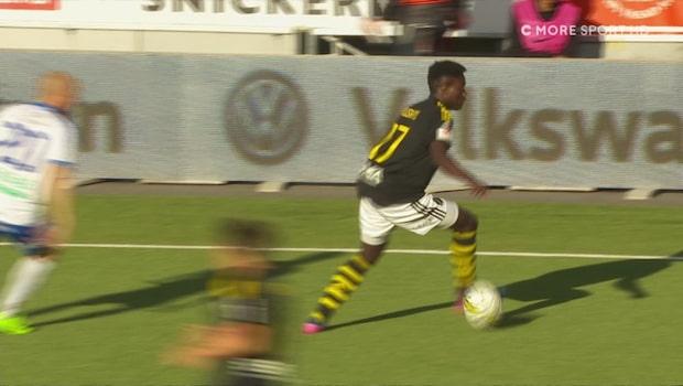 Här debuterar första 00-talisten i AIK