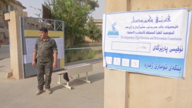 Ja-sidan går mot seger i kurdiskt val