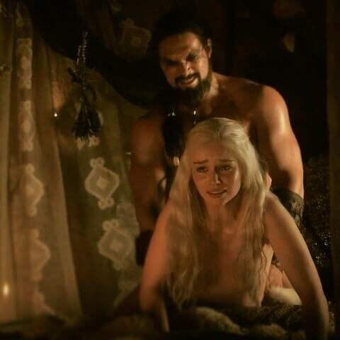 """En av nakenscenerna i """"Game of thrones. Foto: HBO"""