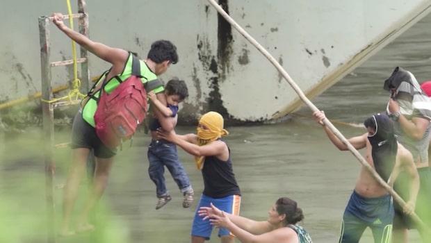 Tusentals centralamerikaner fortsätter vandra mot USA för att söka skydd