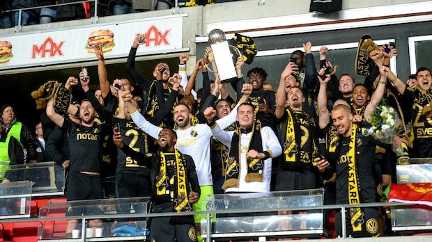 AIK svenska mästare - guldextra
