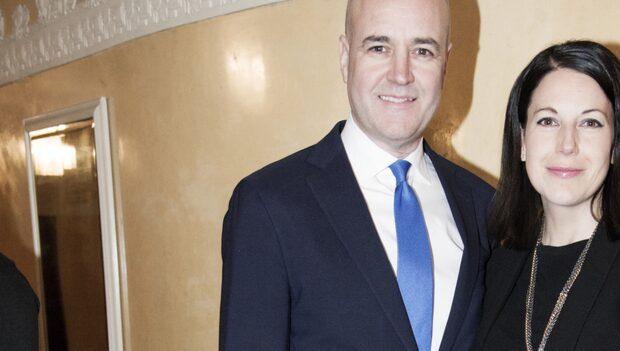 Fredrik Reinfeldts  familjemys på stan