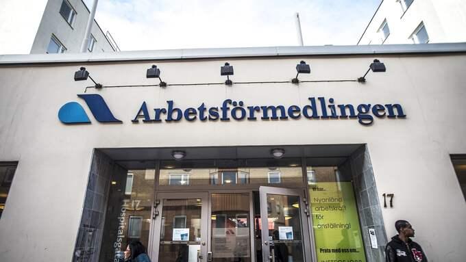 Arbetsförmedlingen betalade ut fyra miljoner i nystartsbidrag till skandalbolaget. Foto: YVONNE ÅSELL / SVD / TT