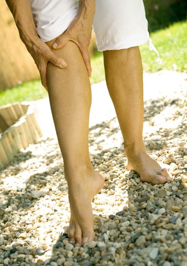 <span>Kramp i benen? Det kan bero på magnesiumbrist.<br></span>