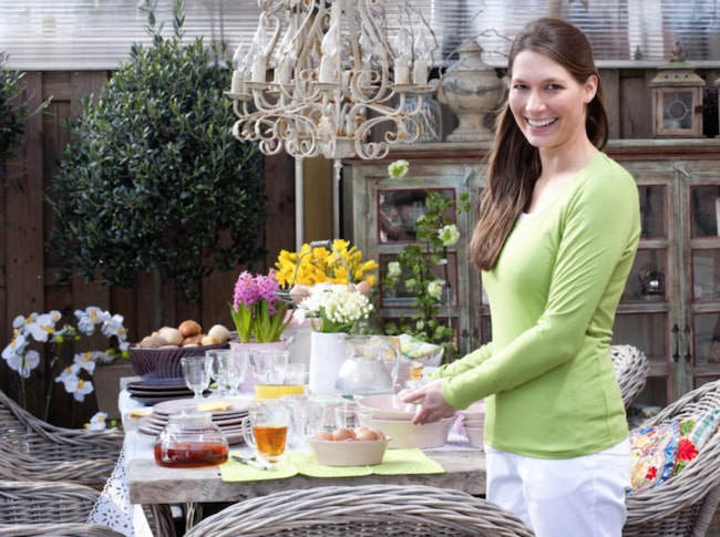 Duka bordet riktigt fint till påsken. Här är några tips!