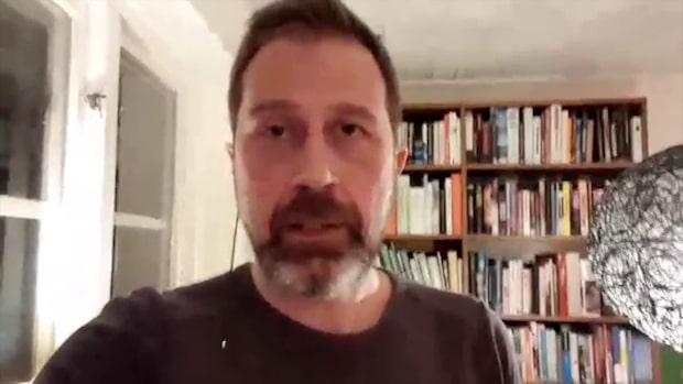 Magnus Sandelin träffade Skråmos svärmor 2016