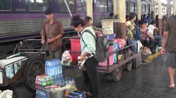 Åk tåg mellan populära turistländerna